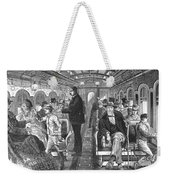 Train: Passenger Car, 1876 Weekender Tote Bag