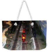 Train Set Weekender Tote Bag