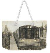 Train Sketch Weekender Tote Bag