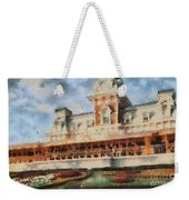 Train Station At Magic Kingdom Weekender Tote Bag