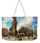 Train Station - Boston And Maine Railroad Depot 1910 Weekender Tote Bag