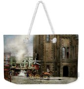 Train Station - Look Out For The Train 1910 Weekender Tote Bag