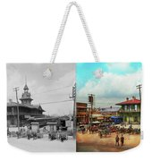 Train Station - Louisville And Nashville Railroad 1912- Side By Weekender Tote Bag