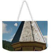 Train Station Spire Weekender Tote Bag