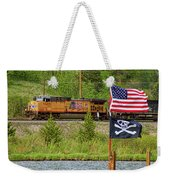 Train The Flags Weekender Tote Bag