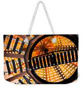 Train Track Abstract Weekender Tote Bag