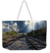 Train Track Junction In Charleston Sc Weekender Tote Bag