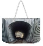 Train Track Weekender Tote Bag