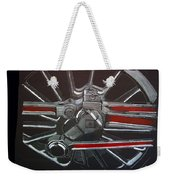 Train Wheels 3 Weekender Tote Bag