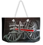 Train Wheels 4 Weekender Tote Bag