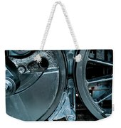 Train Wheels Weekender Tote Bag
