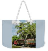 Train Yard Weekender Tote Bag