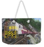 Trainmaster At Myra Weekender Tote Bag