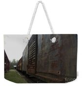 Trains 12 Autochrome Border Weekender Tote Bag