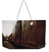 Trains 12 Retro Weekender Tote Bag