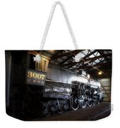 Trains 3007 C B Q Steam Engine Weekender Tote Bag