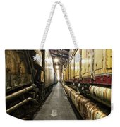 Trains Ancient Iron In The Barn Weekender Tote Bag
