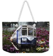 Trains Brookfield Zoo Trolley Car 141 Weekender Tote Bag