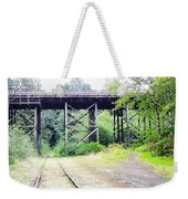 Trains Over And Under Weekender Tote Bag