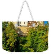 Trakoscan Castle And Green Lake  Weekender Tote Bag