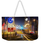 Tram Only Weekender Tote Bag