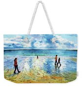Tramore Beach Waterford Weekender Tote Bag