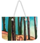 Trampling Through The Woods Weekender Tote Bag