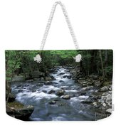 Tranquil Moments On Little Pigeon Creek Weekender Tote Bag