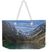 Tranquil Mountain Lake Weekender Tote Bag