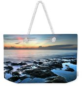 Tranquil Sunrise At Coral Cove Beach Weekender Tote Bag