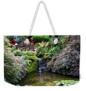 Tranquility In A Japanese Garden Weekender Tote Bag