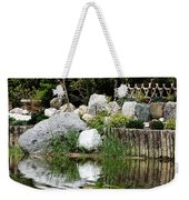 Tranquility In The Japanese Garden Weekender Tote Bag