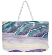 Tranquility Landscape Mountain Surreal Modern Fine Art Print Weekender Tote Bag
