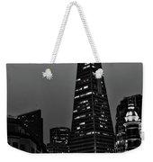 Trans American Building At Night Weekender Tote Bag