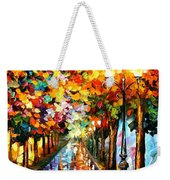 Transformation Of The Night Weekender Tote Bag