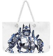 Transformers Optimus Prime Or Orion Pax Graphic  Weekender Tote Bag