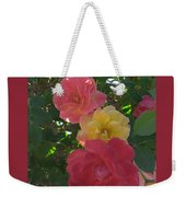 Transforming Beauty Weekender Tote Bag