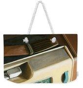 Transistor Radio Weekender Tote Bag