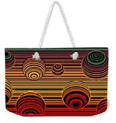 Transitional Flow Map Weekender Tote Bag