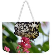 Translucent Butterfly Weekender Tote Bag