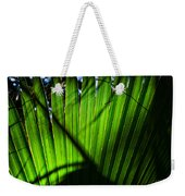 Translucent Green Weekender Tote Bag