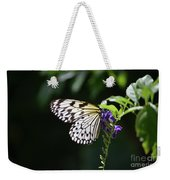 Translucent Wings On A Rice Paper Butterfly Weekender Tote Bag
