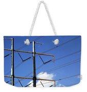 Transmission Lines Weekender Tote Bag