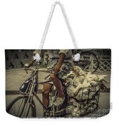 Transport By Bicycle In China Weekender Tote Bag