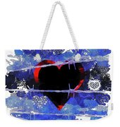 Trapped Heart Weekender Tote Bag