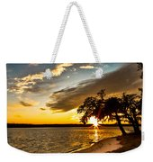 Trapped Sunset Weekender Tote Bag