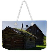 Trappers Cabin Clydesdale Barn Weekender Tote Bag