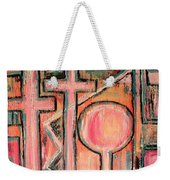 Trappings Of Love Abstract Art Painting  Weekender Tote Bag