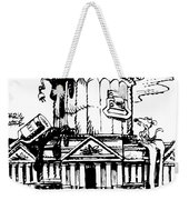 Trash Congress Weekender Tote Bag