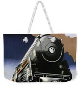 Travel Canadian Pacific Across Canada - Steam Engine Train - Retro Travel Poster - Vintage Poster Weekender Tote Bag